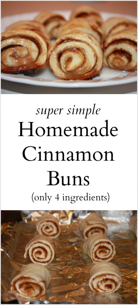 Simple Homemade Cinnamon Buns