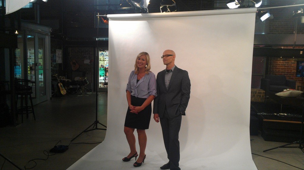 Jeremy John with co-host Courtney Ketchen on BT Winnipeg