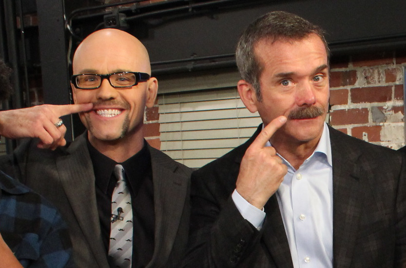 Jeremy John & Chris Hadfield on BT