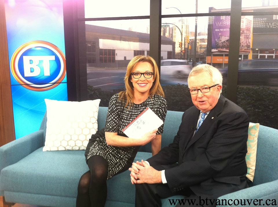 Jody Vance with The Right Honourable Joe Clark