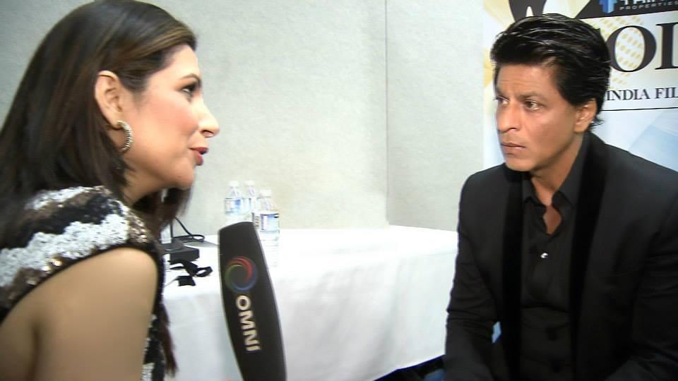 Tarannum Interviewing Shah Rukh Khan
