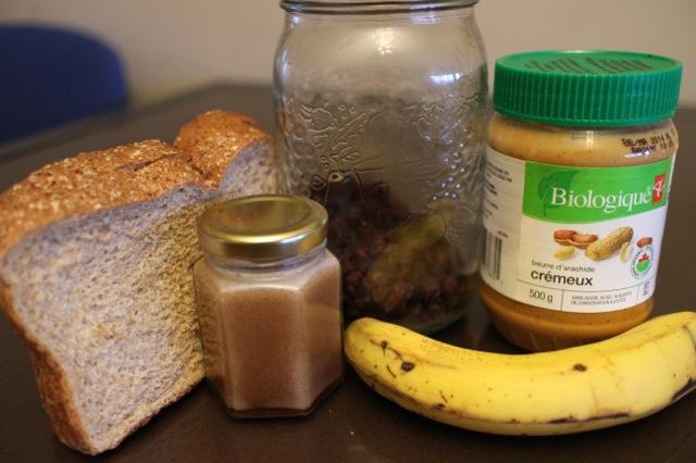 Teddy Bear toast ingredients