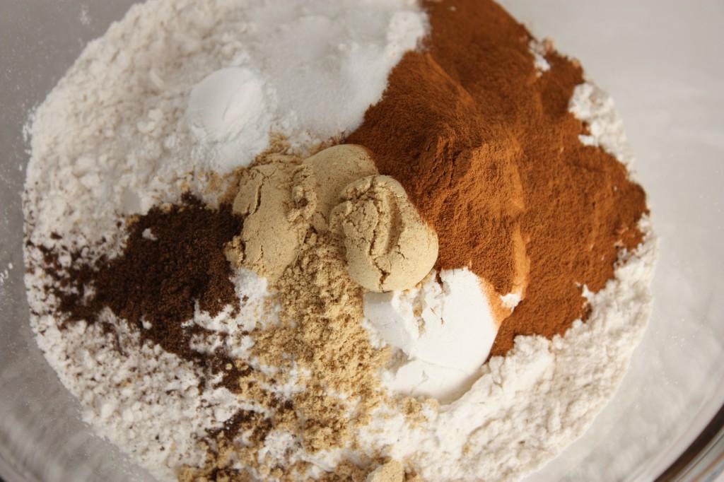 gingerbread dry ingredients