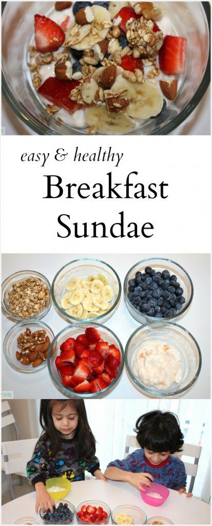 Easy, Healthy Breakfast Sundae