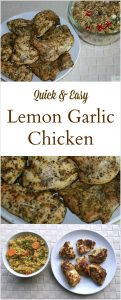 Easy Lemon Garlic Chicken  Recipe
