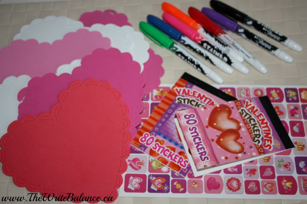 Valentine's Card Supplies