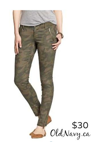 camo oldnavy pants