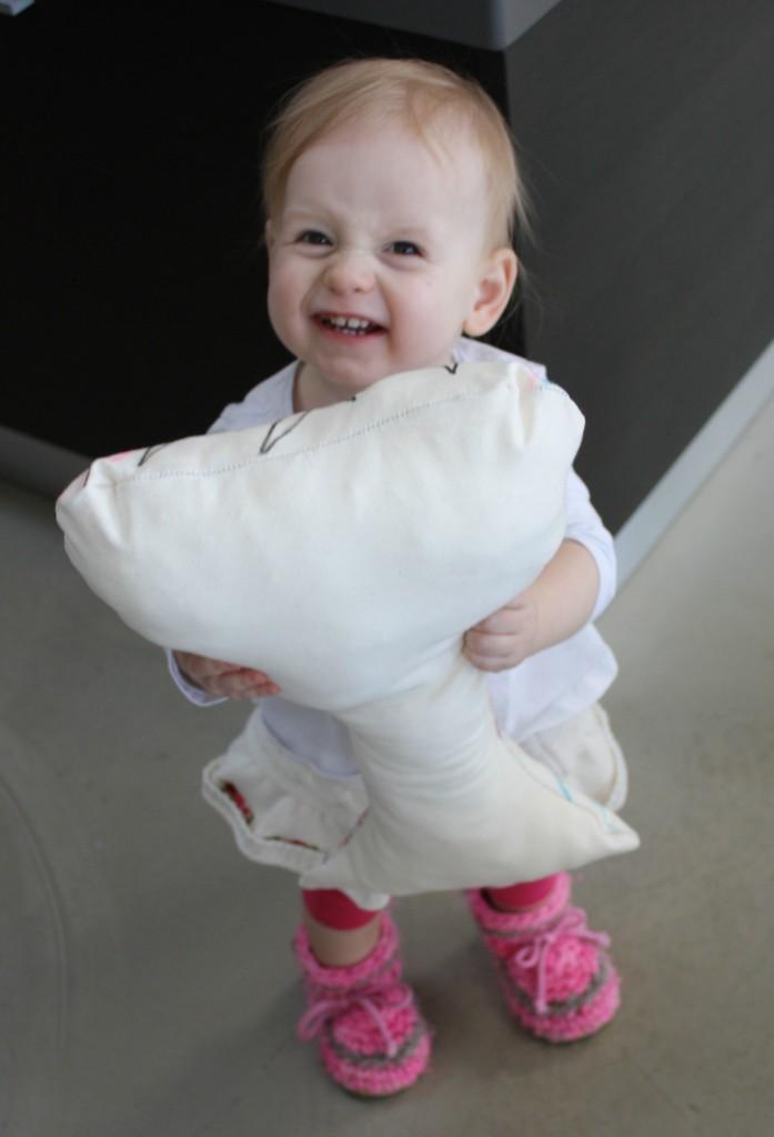 stuffed pillow case