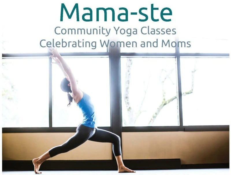 Mamaste Yoga Event Poster Cropped