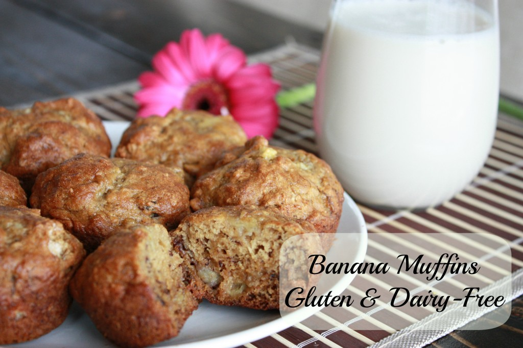 Banana Muffins GF feature