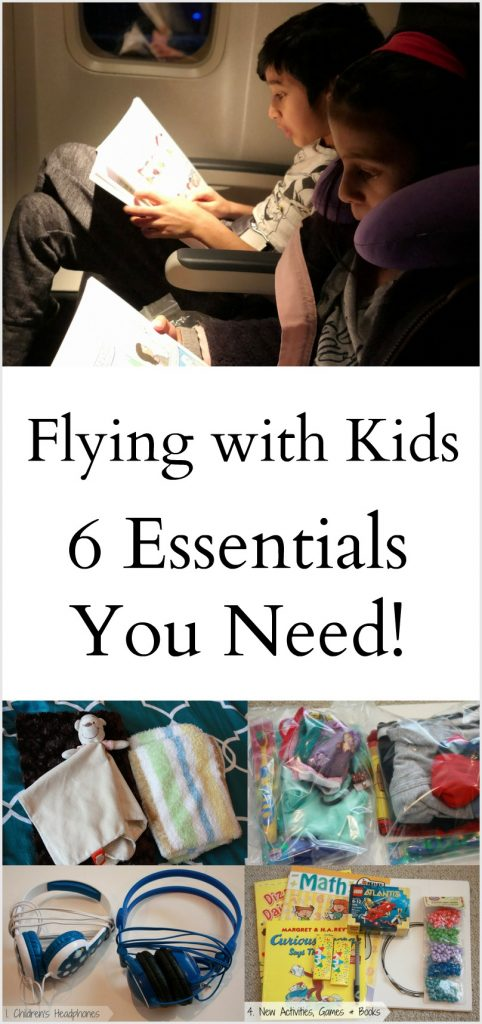 Essentials when Flying with kids