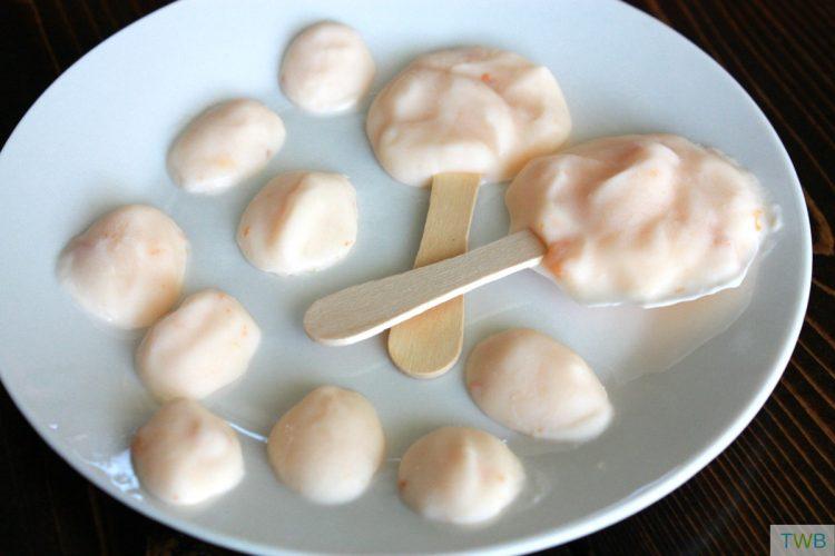 Frozen Yogurt Drops