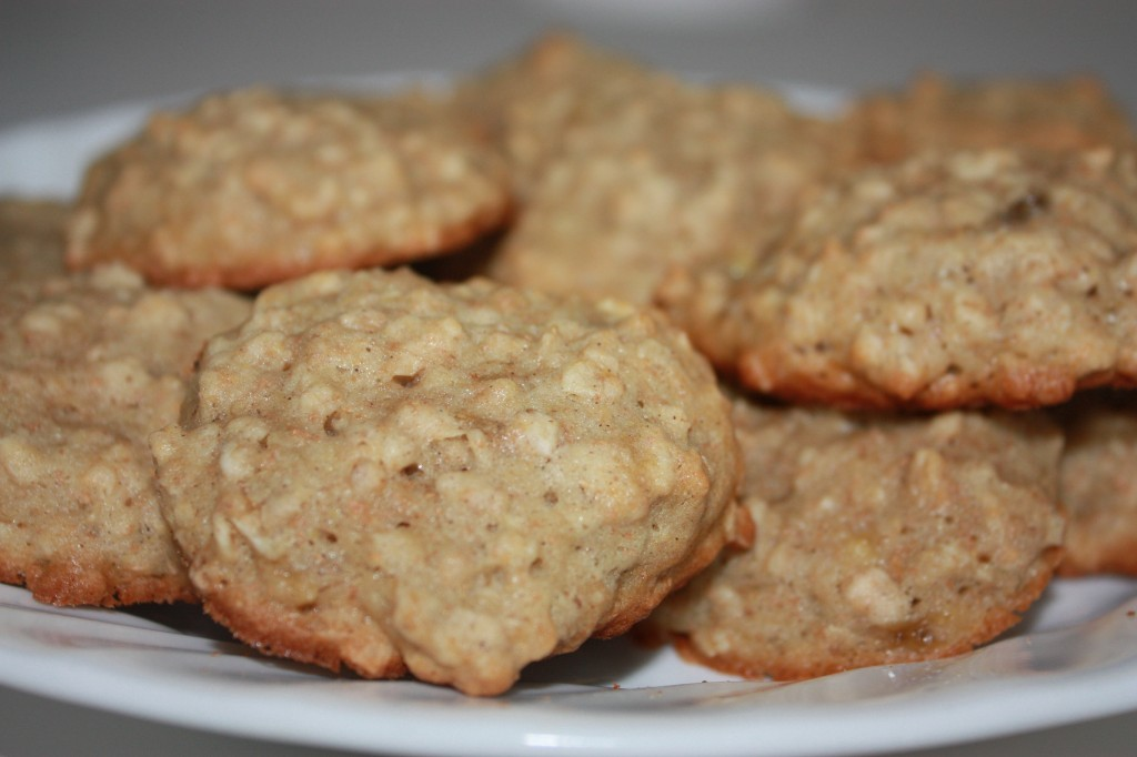Overripe Banana Recipes - banana bread cookies