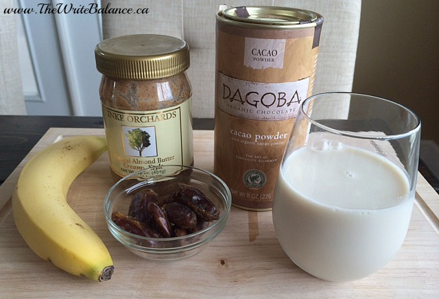 banana date smoothie ingredients