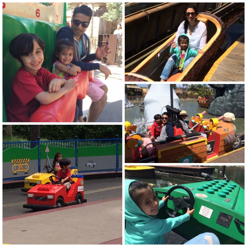 lego rides Collage