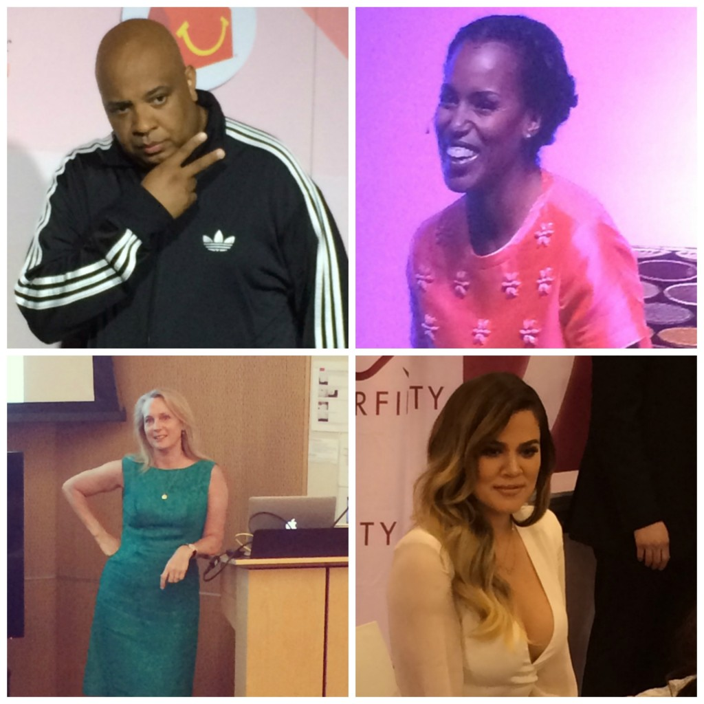 Blogher Celeb collage