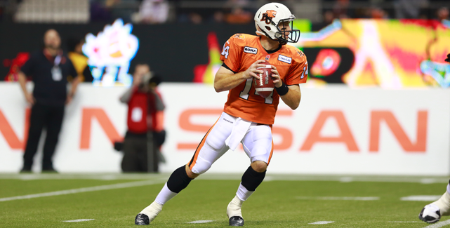 Travis Lulay Quarterback