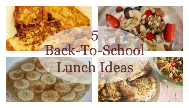 Back to School Lunch feature