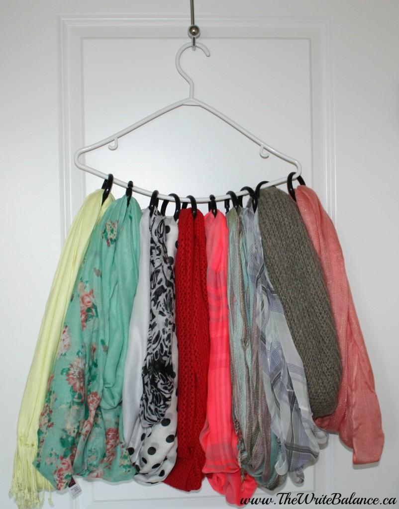 Organize scarves