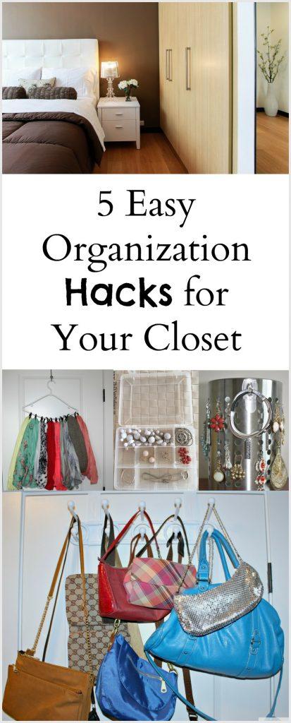 5 Easy Hacks to Organize Your Closet