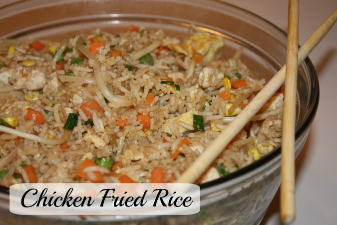 Chicken Fried Rice - main
