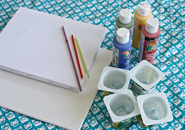 straw painting supplies 1