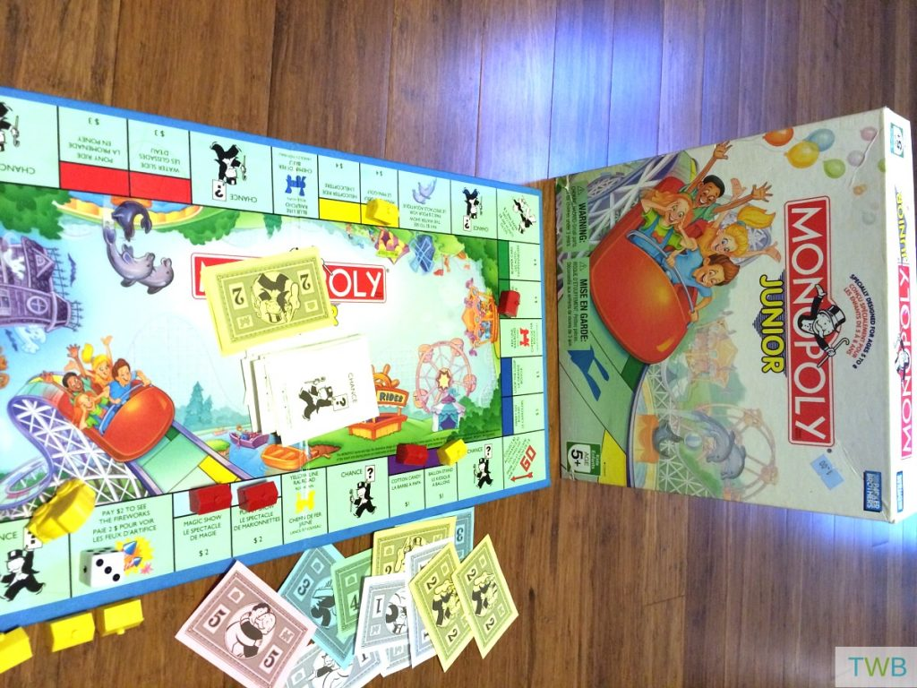 Board games for preschoolers - monopoly
