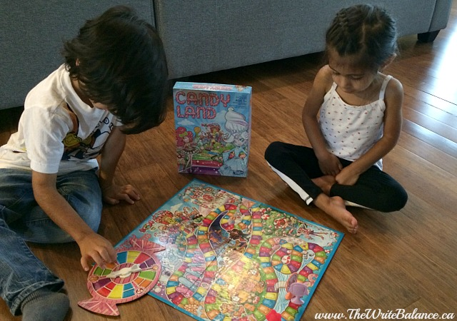 5 board games for preschoolers - candy land
