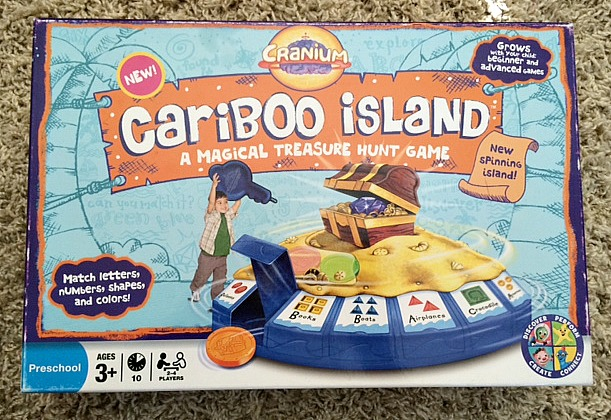 5 board games for preschoolers - cariboo island
