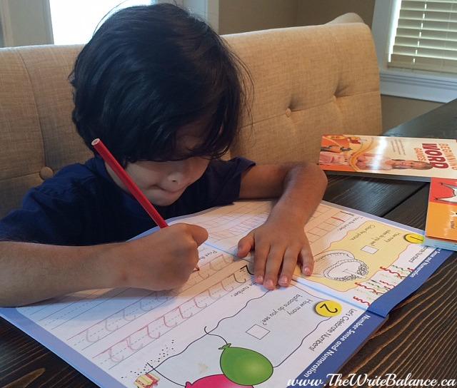 keyan practicing numbers
