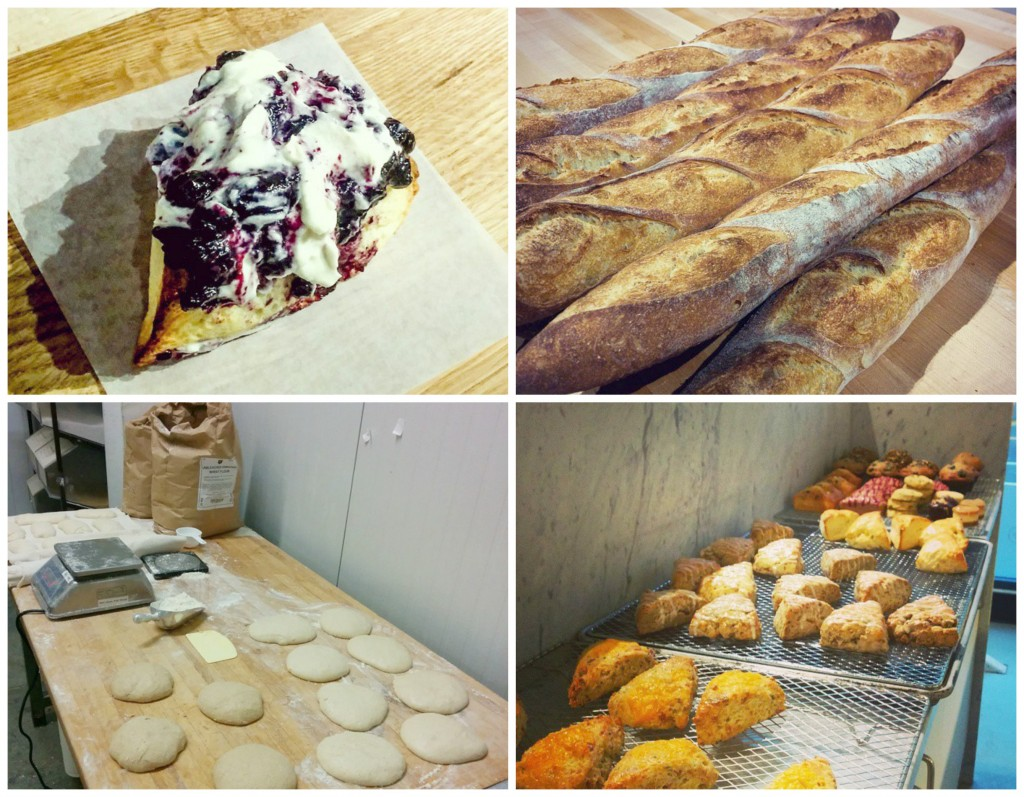 small victory bakery collage