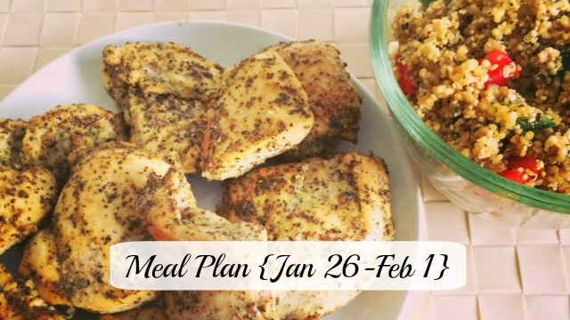 Meal Plan Jan 26-Feb1