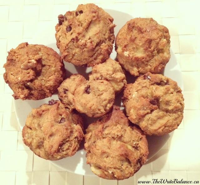 glluten-free banana muffins