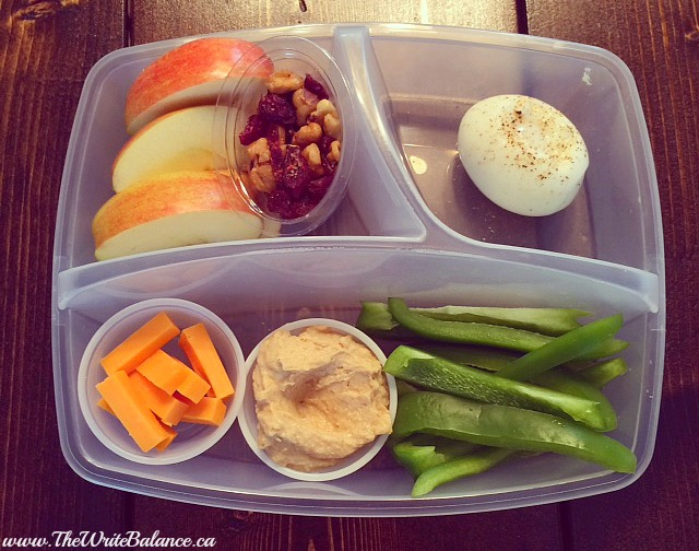 homemade protein lunch box