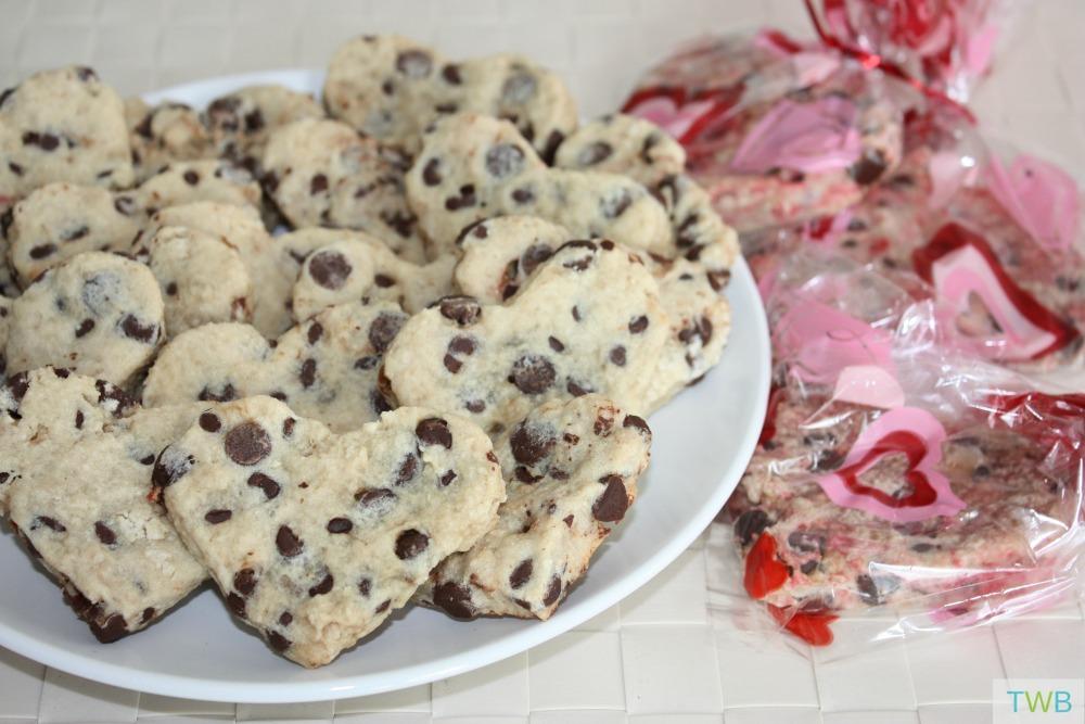Fun Shaped Chocolate Chip Cookies