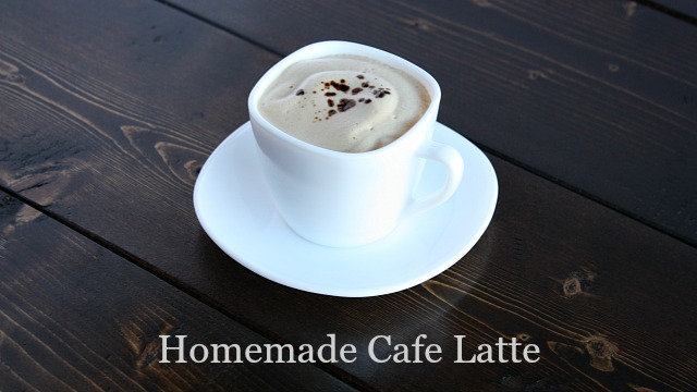 Homemade Cafe Latte feature
