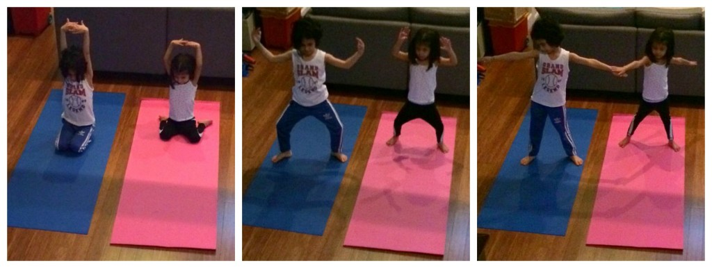 family yoga collage2