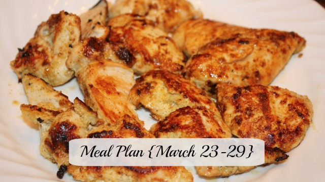 meal plan march 23-29