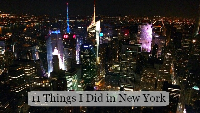 11 fun things i did in new york the write balance for Fun thing to do in nyc