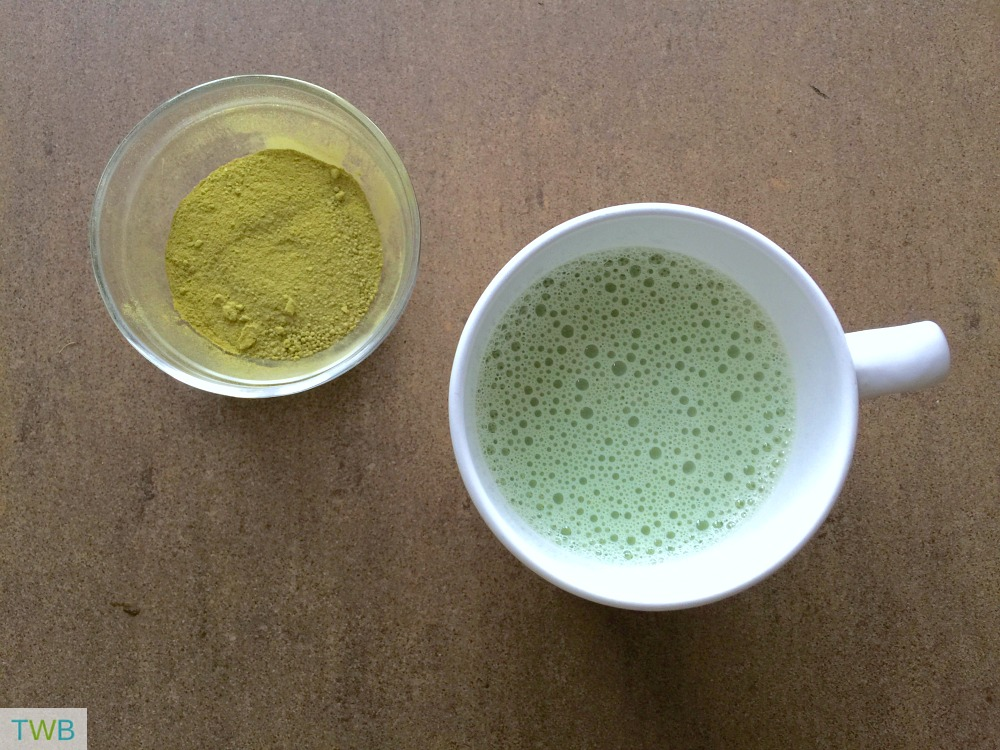 Easy Matcha Latte/Boost Your Energy