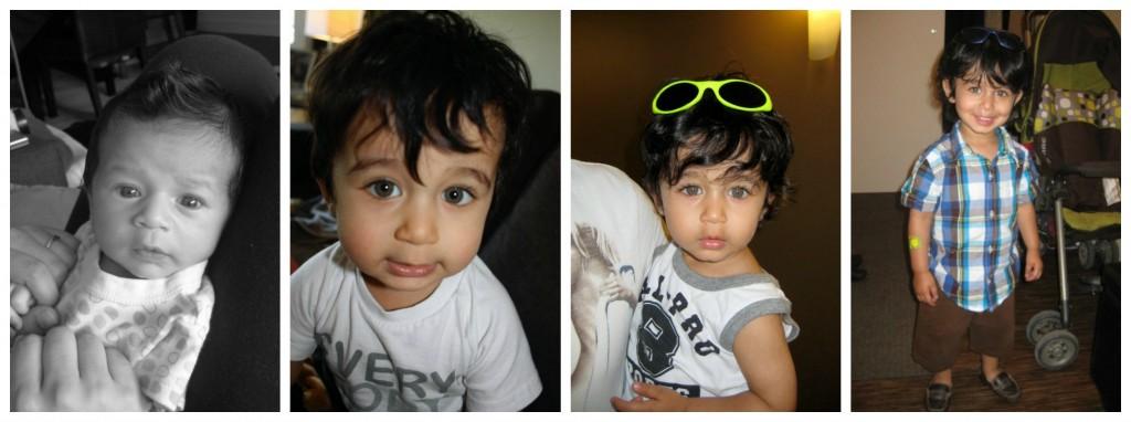 Keyan Baby Collage