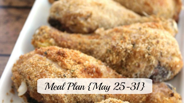 Meal Plan May 25