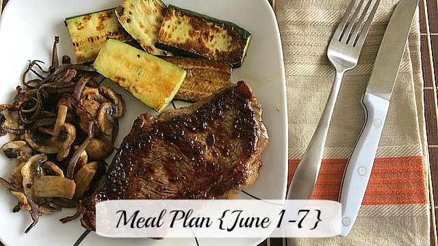 meal plan june 7