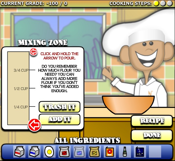 Chef Solus Cooking Academy Screen Shot