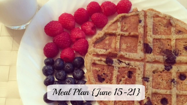 Meal Plan June 15