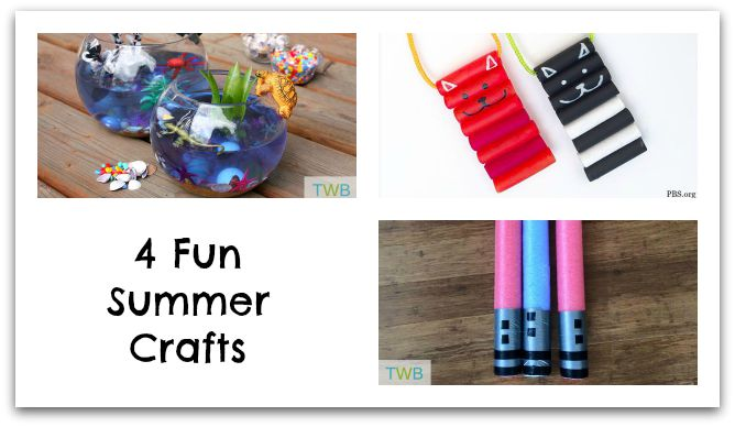 4 Fun summer crafts photo