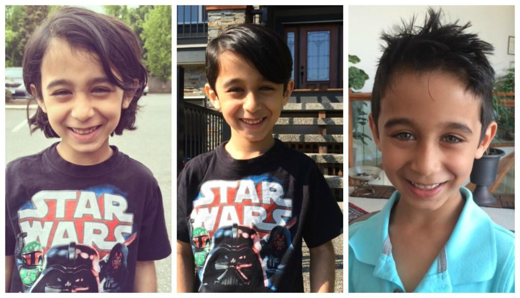 Keyan's haircuts
