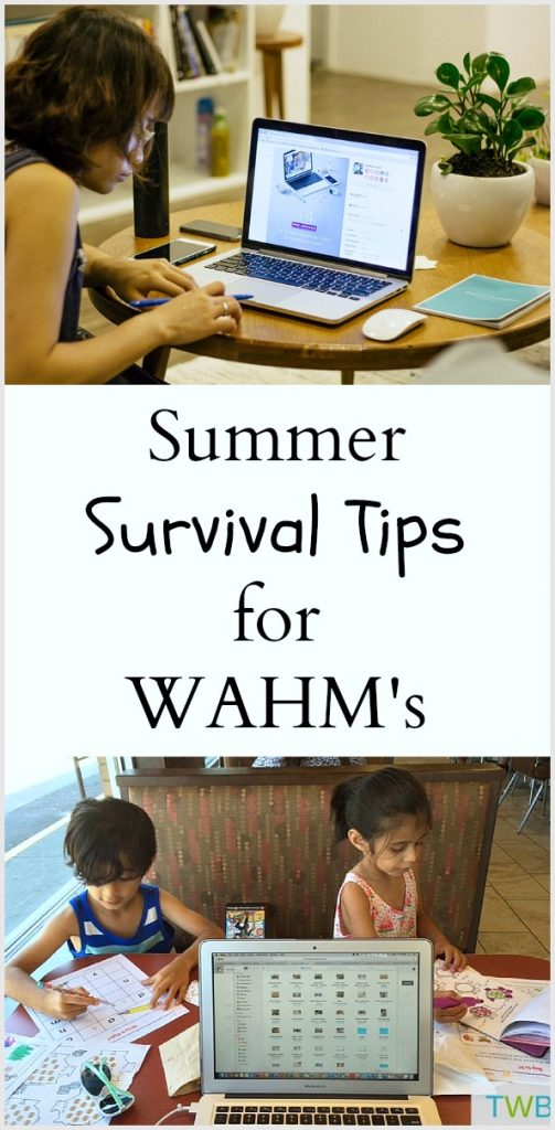 Summer Survival Tips for the Work at Home Mom