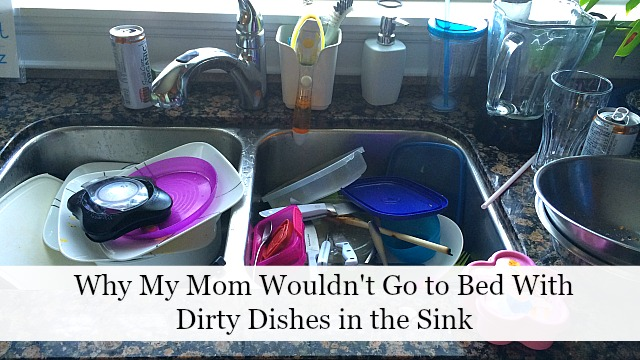 dirty dishes feature