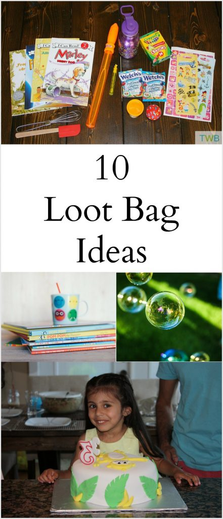 10 Loot Bag Ideas